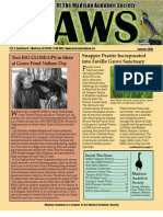 Jun-Jul-Aug 2009 CAWS Newsletter Madison Audubon Society