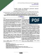 Antifeedant and insecticidal activity of Polygonum persicaria extracts on Nomophila indistinctalis