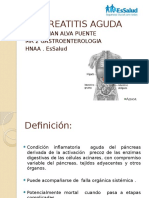 Medicina III - Pancreatitis Aguda