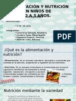 La Alimentacion y Nutricion - Estimulacion Oportuna II (1)