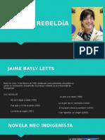 Novela Rebeldía