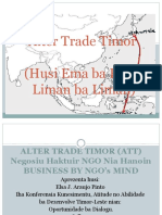 Elsa Pinto - Alter Trade Timor (Tetum)