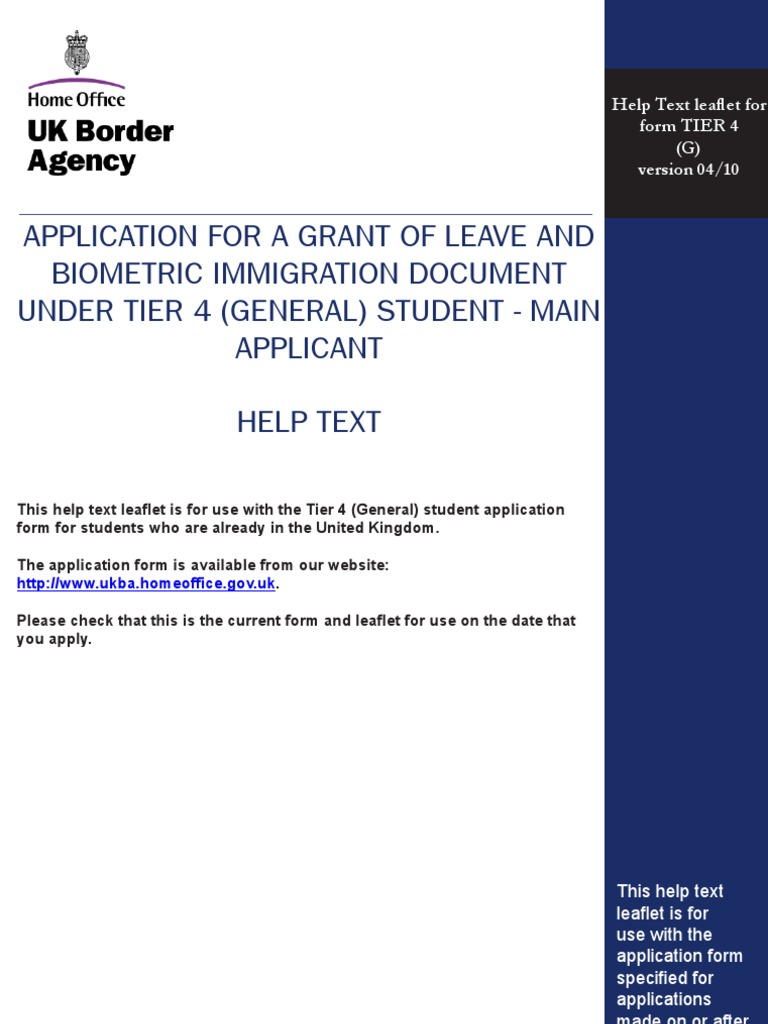 Beautiful Home Office Uk Border Agency Application Form Pattern ...