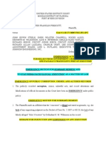 Emergency Motion for Summary Remedy