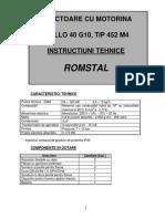 40 G10 - Arzator Cb. Lichid - Montaj, Utilizare Si Service