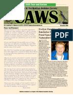 Dec 2009 CAWS Newsletter Madison Audubon Society