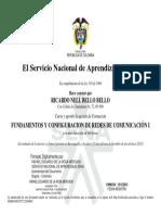 Fundamentos y Configuracion de Redes de Comunicacion i