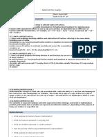 Fraction Unit Plan