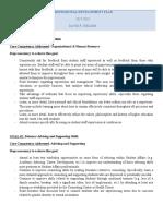 internship i - professional development plan - nielsen