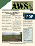 Jun-Jul-Aug 2010 CAWS Newsletter Madison Audubon Society