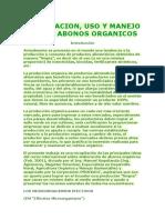 ELABORACION_uso y Manejo de Abonos Organicos