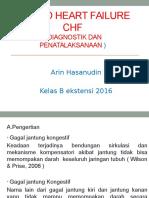 CHF ( Diagnostik Dan Penatalaksanaan )_ ARIN