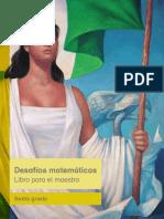 Primaria Sexto Grado Desafios Matematicos Libro Para El Maestro Libro de Texto