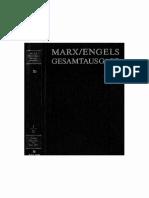 MEGA Marx Engels