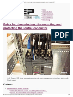 Rules for Dimensioning, Disconnecting and Protecting the Neutral Conductor _ EEP