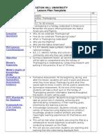 social studies lesson plan 4