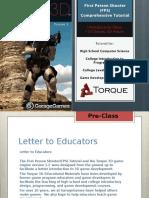 Torque 3D 1_2 Tutorial Presentation.ppt