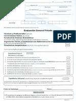 Srequisitos  examen privado