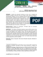 A Educação Brasileira Síntese Dos Principais Acontecimentos