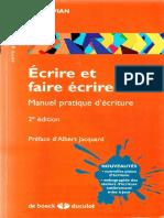 Ecrire Et Faire Écrire 2nd Ed (2)