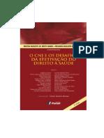 o Cnj e Os Desafios Da Efetivação Do Direito à Saúde - 2ª Edição