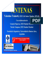 Seminario de Antenas (2009) Valentino Trainotti