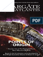 STARGATE SG-1 & ATLANTIS - Points of Origin - Volume Two of the Travelers' Tales