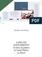 A Era Do Saneamento as Bases Da Politica no brasil