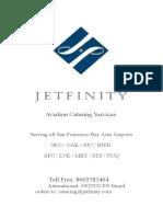 Jetfinity Menu 2017