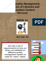 Week 14-Iso and Quality Mgmt