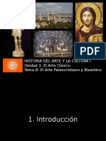 U3 T8 - Arte Paleocristiano y Bizantino