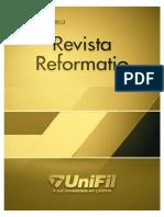 Revista Reformatio edicao-2013