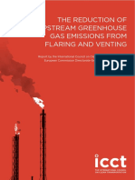 THE REDUCTION OF UPSTREAM GREENHOUSE GAS EMISSIONS FROM FLARING AND VENTING