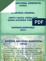 Sistema Nacional Ambiental Diapositivas.