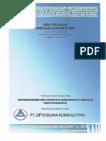 17. Penyusunan Dokumen Amdal Bendung Dan Jaringan Irigasi d.i. Aimasi Cs Di Kabupaten Manokwari