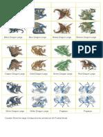 [Paper Models] - Gurps - Cardboard Heroes - Fantasy Dragons