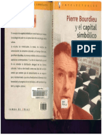 Pierre Bourdieu y El Capital Simbólico