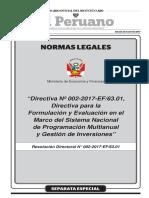 Directiva para la Formulación y Evaluación en el marco del INVIERTE-PE.pdf