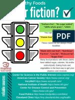 fact or fiction handout