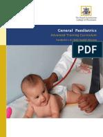 At General Paediatrics Curricula