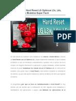 Desbloquear  Hard Reset LG Optimus L3x, L4x, L5x Todos Los Modelos Super Facil..docx