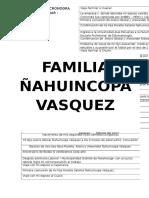 Cronograma Familiar