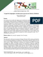 Artigo - Linguagem e Interação - Versão Finalo - II Enretes