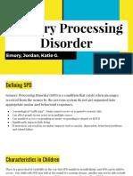 sensory processing disorder 1