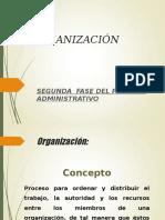 6.2 ORGANIZACIÓN