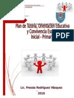 Plan Institucional Anual de Tutoria y Orientación Educativa