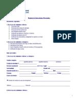Formulario Registro Antecedentes