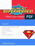 calling all superheroes symposium presentation