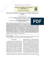 Radon and Thoron Exhalation Rate From Surface Soil of Bangka-belitung Islands