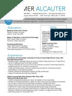 resume summeralcauter 4-17